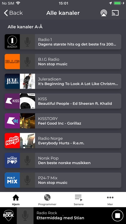 Radio Rock Norge screenshot-5