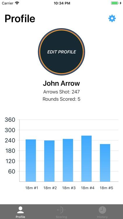 Rise - Archery Scoring Tracker screenshot-8