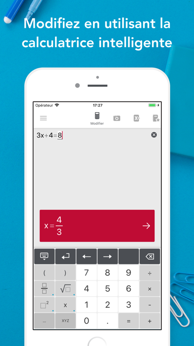 Screenshot for Photomath in France App Store