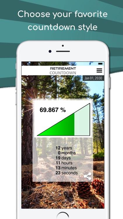 Retirement Countdown App screenshot-3