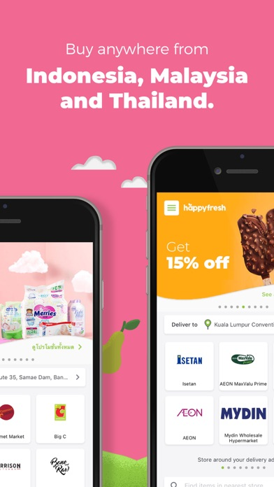 Unduh HappyFresh - Grocery Delivery pada Pc