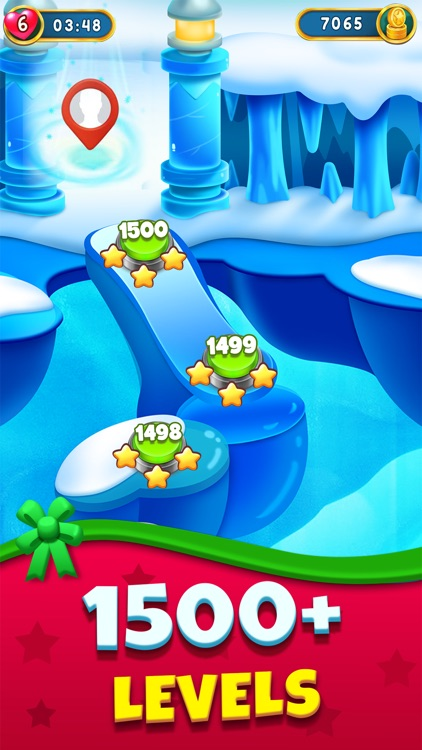 Christmas Games - Bubble Pop screenshot-4