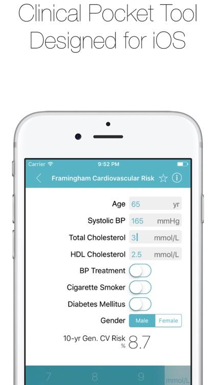 CliniCalc Medical Calculator screenshot-4