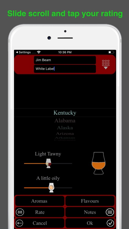 Bourbon Tasting screenshot-5