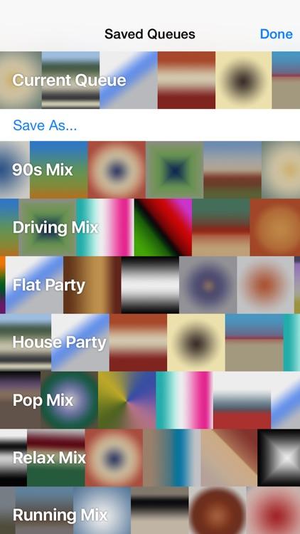 Queue - Crossfading screenshot-3