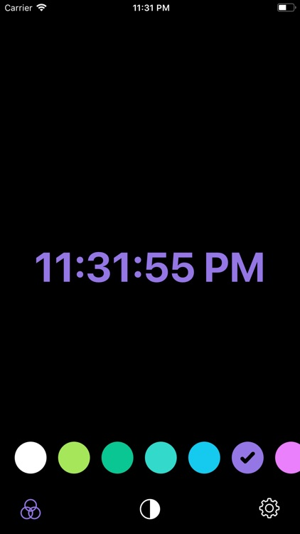 Stand Clock Display screenshot-4
