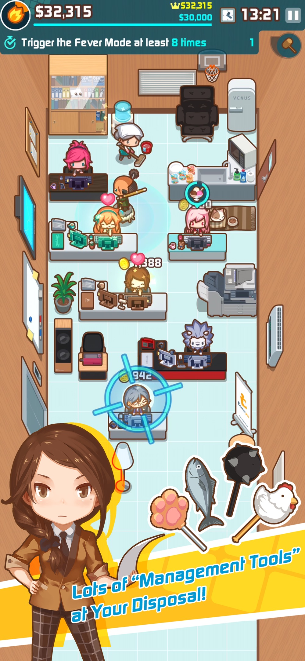OH~! My Office – Boss Sim Game Cheat Codes