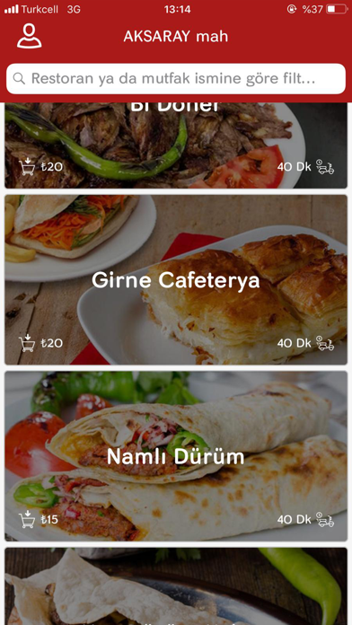 Yettim – Yemek Siparişi screenshot two