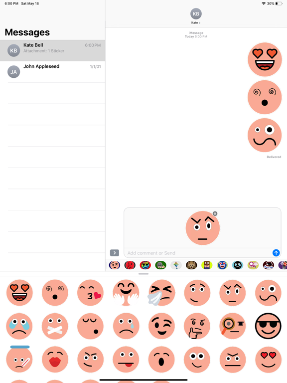 Skin Emoji Stickers screenshot 5