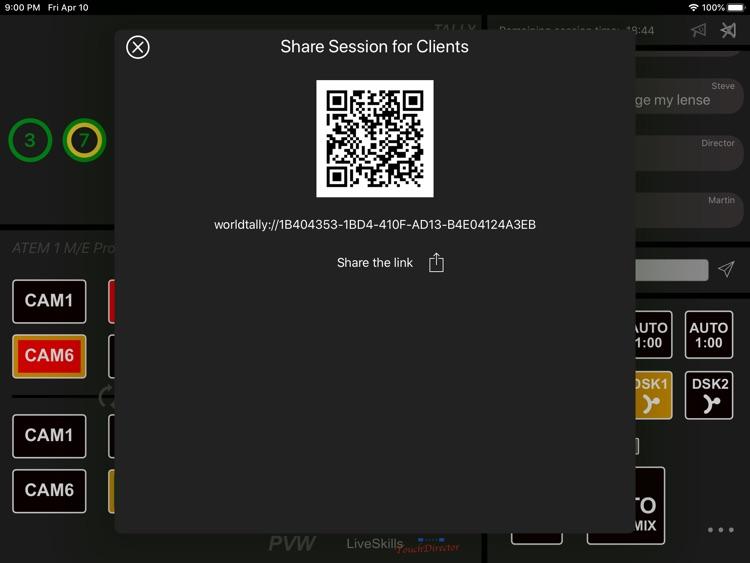 TouchDirector Remote screenshot-4