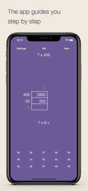 ‎Grid Multiplication Screenshot