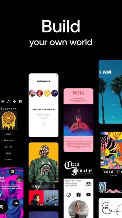 Universe — Website Builder Screenshot