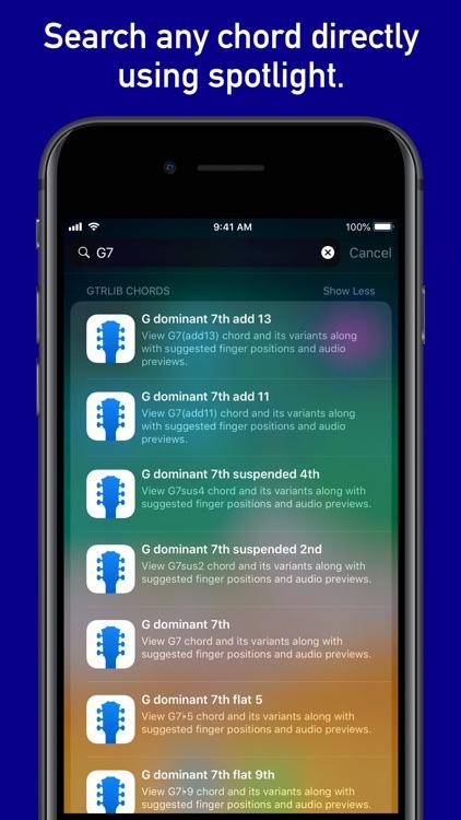 GtrLib Chords Pro screenshot-4