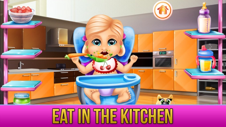 New Baby Sister Makeover Game