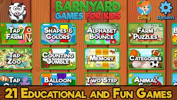 Barnyard Games For Kids screenshot-0