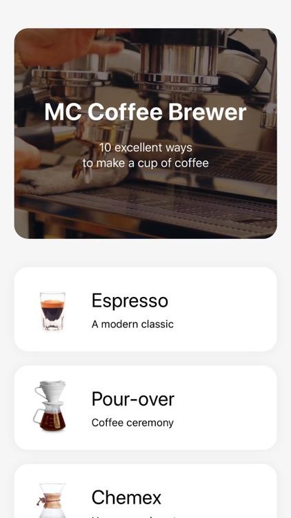 MC Coffee Brewer