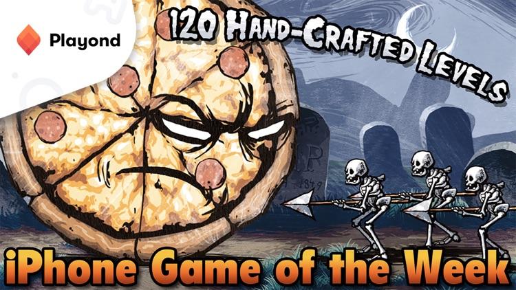 Pizza vs. Skeletons - Playond screenshot-0
