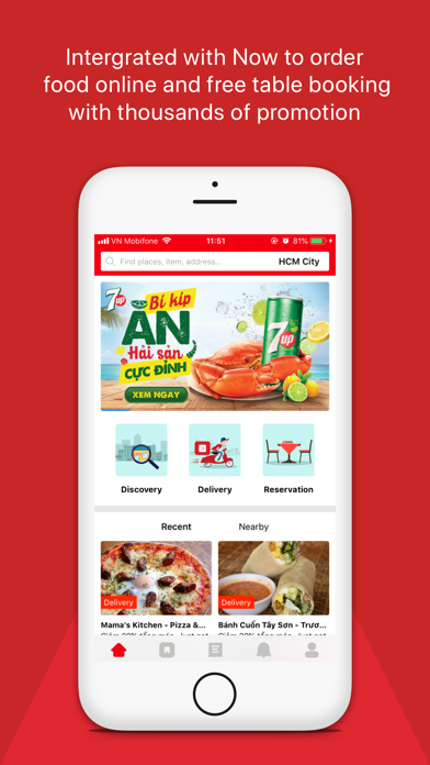 Screenshot for Foody - Find, Reserve, Deliver in Azerbaijan App Store