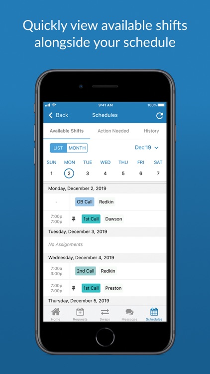 QGenda screenshot-6