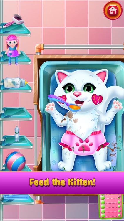 New Baby Kitten Cat Care screenshot-8