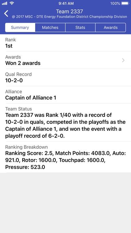 The Blue Alliance screenshot-4