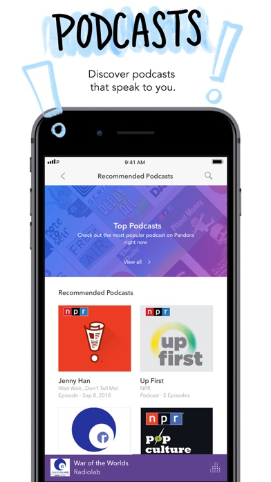 Pandora: Music & Podcasts app image