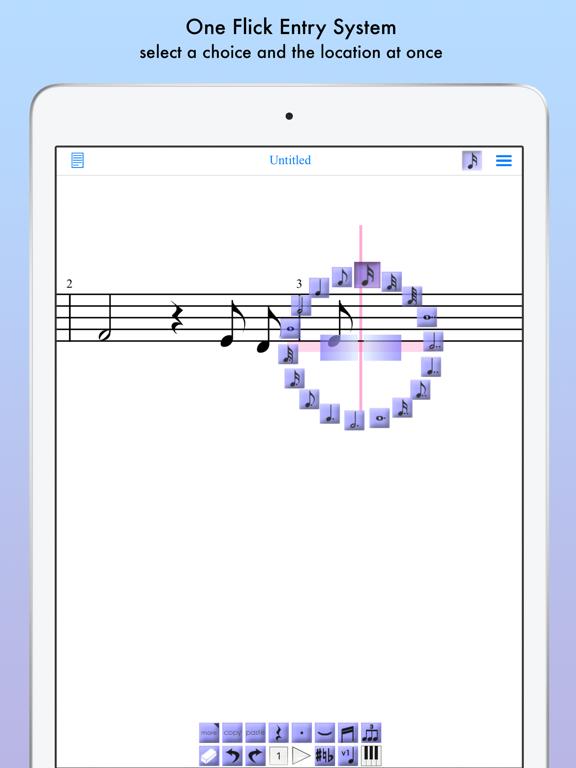 iWriteMusic for iPad screenshot two