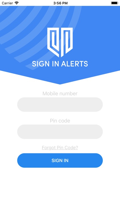 Sign In Alerts