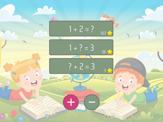 Math up to 10 in German Screenshots