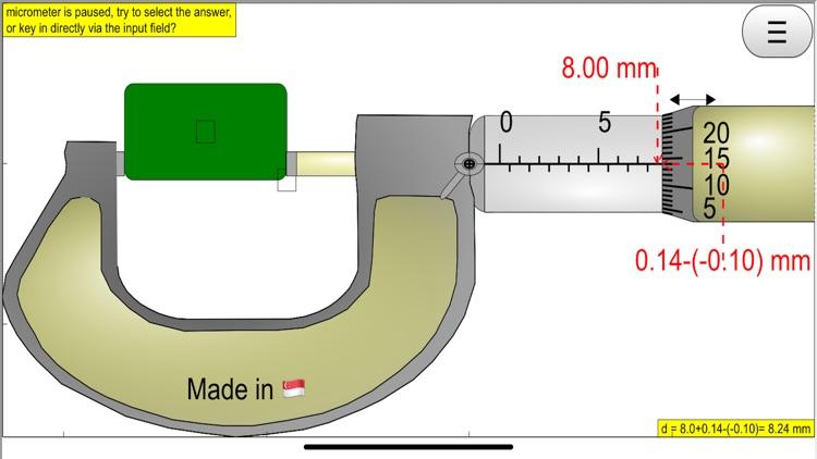 Micrometer Simulator Pro screenshot-9