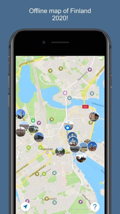 Finland 2020 — offline map