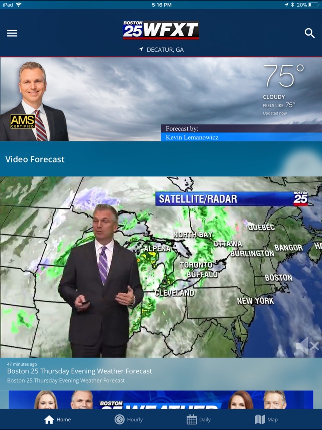 Boston 25 StormTracker Weather on the App Store