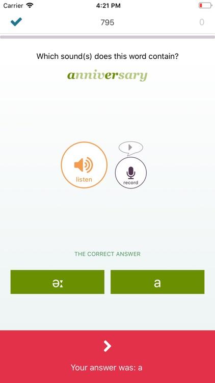 British English Sounds Game