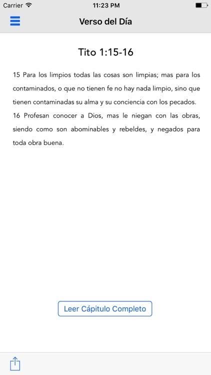 Biblia Reina Valera en Español