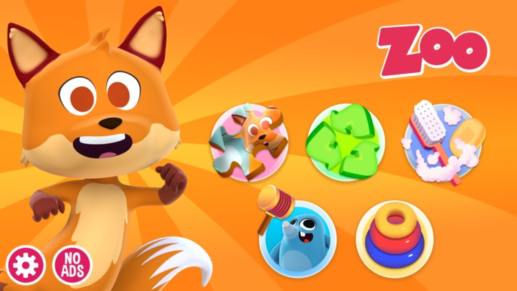 Zoo Animals - Games for kids screenshot-0