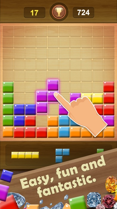 Wooden Block Puzzle Game screenshot 8