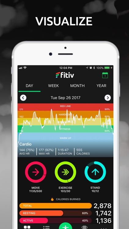 FITIV Pulse GPS Cardio Tracker screenshot-0