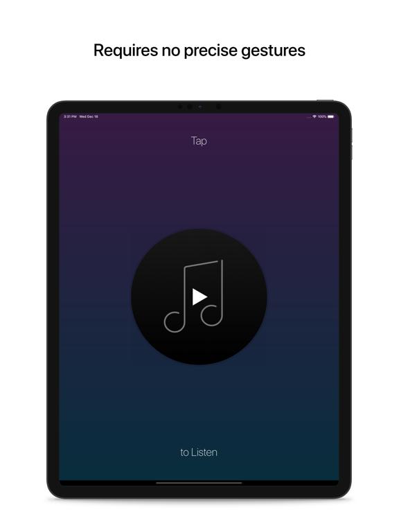 Listen: The Gesture Music Player screenshot