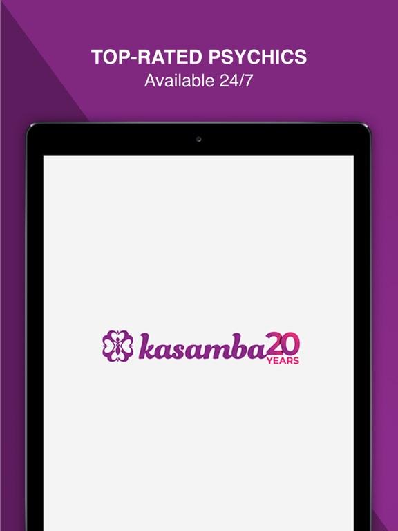 Kasamba - Live Psychic and Tarot Readings screenshot