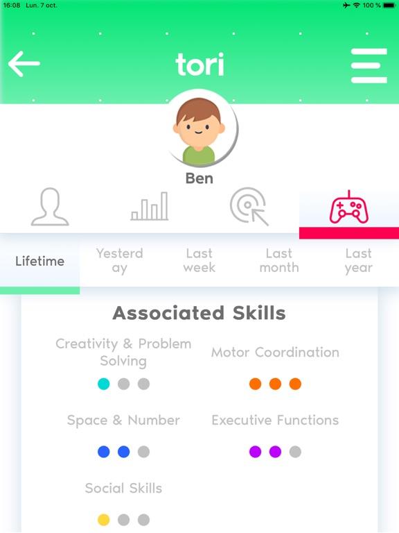 tori™ Dashboard screenshot 9