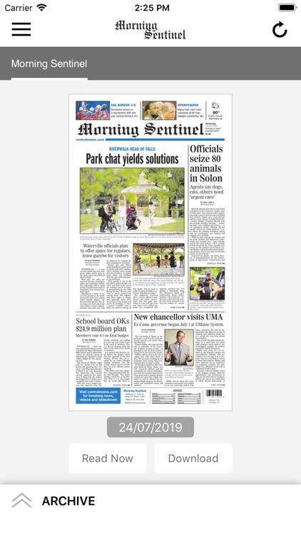 Morning Sentinel ePaper