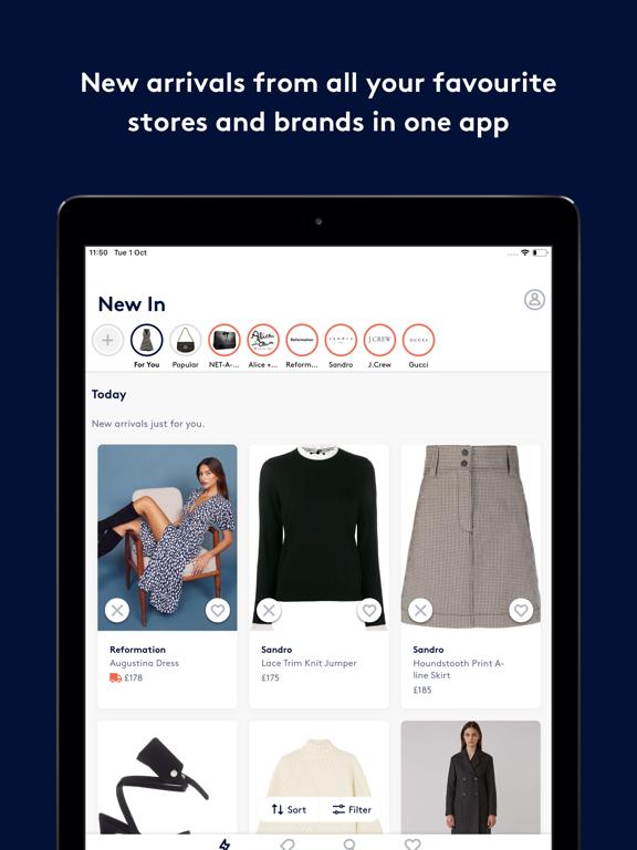 Screenshot #4 pour Lyst: Shop designer brands