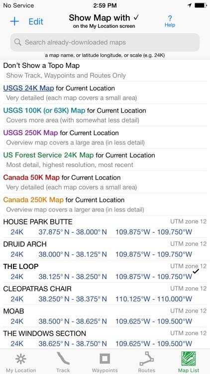 i Hike GPS : Topo Maps screenshot-6