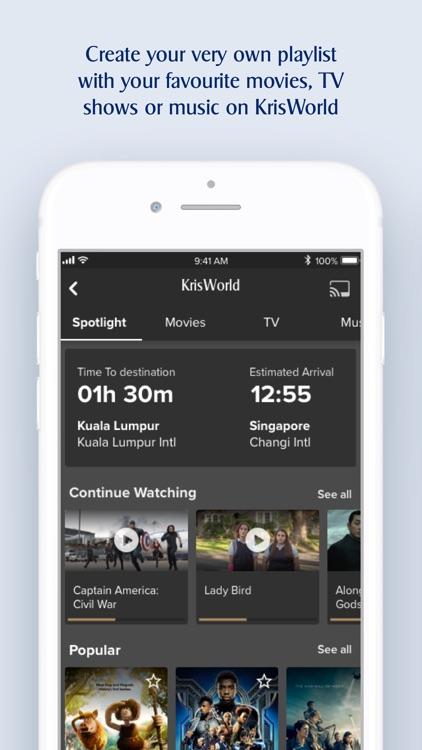 Singapore Airlines screenshot-3