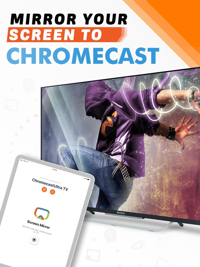 Screen Mirror for Chromecast on the App Store