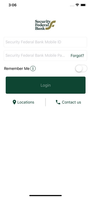 Security Federal Bank on the App Store