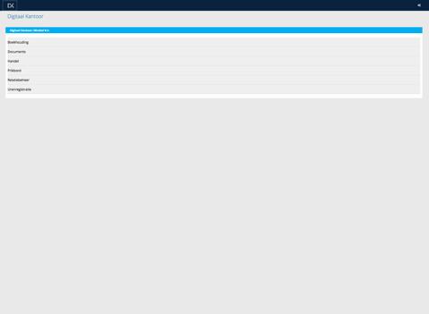 Digitaal Kantoor App - náhled
