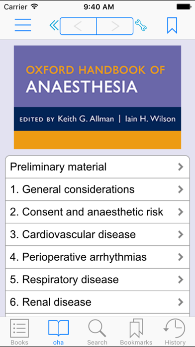 OH of Anaesthesia, 4 ED