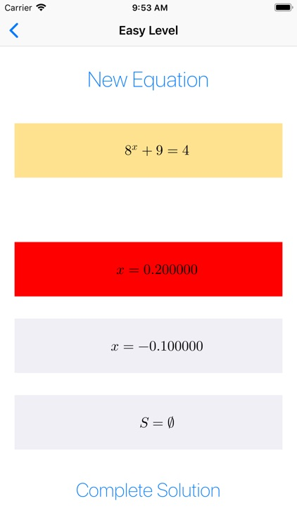 Exponential Equations   -