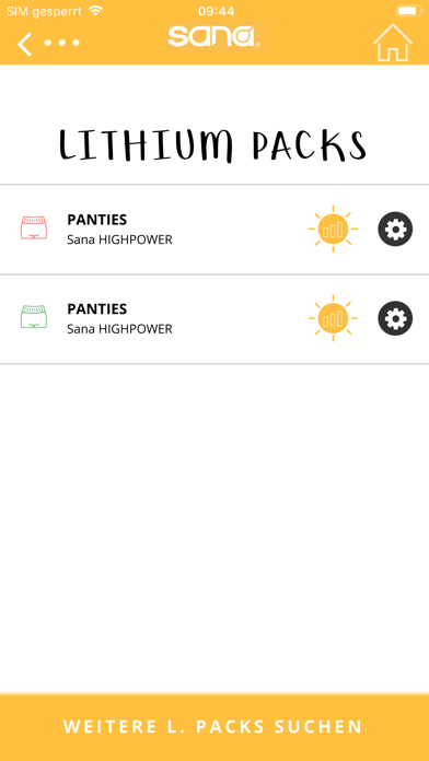 sana heat appScreenshot von 4